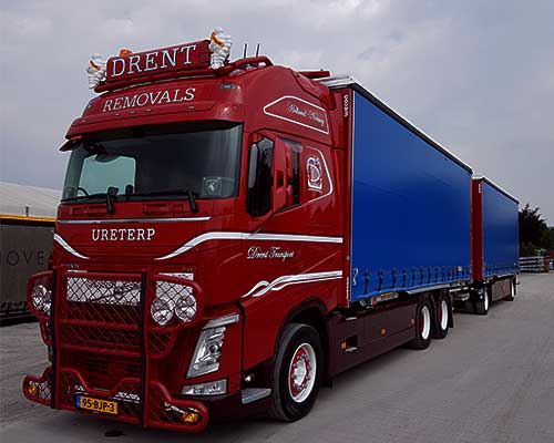 Verhuizen naar andere Europese Landen Transport
